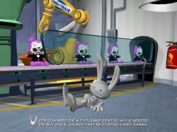 Sam & Max The Mole, the Mob and the Meatball Screenshot